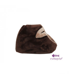 AU195 Lit pour Chat Catspia Kitten House Brown