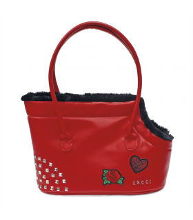 Sac Fourré Guns n' Roses Perky Red Croci