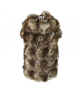 Manteau en Faussure Fourrure Anna