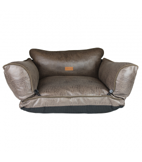 Sofa Convertible Simili Cuir Studio Croci