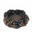 Dodo 2 en 1 Orbis de Luxe à Pois Turquoise O lalapets A57
